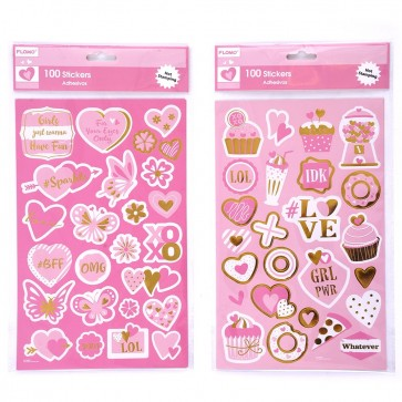 Valentine's Day Simply Sweet Stickers