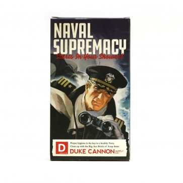 Big Ass Brick of Soap - Naval Supremacy by Duke Cannon Supply Co.