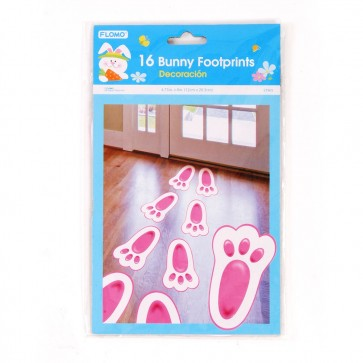 FLOMO Easter Bunny Footprint Cutouts