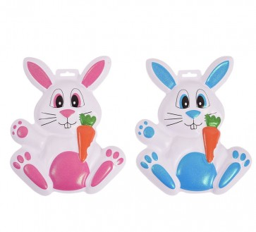 FLOMO Plastic Easter Rabbit Decorations