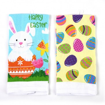 Easter Printed Kitchen Towel by FLOMO