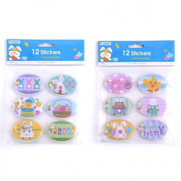 Easter Puffy Stickers with Sequins Inside by FLOMO