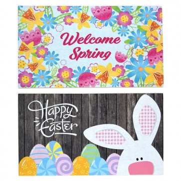 Easter Welcome Mat by FLOMO