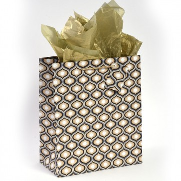 "MyGlitzzie Grande Handmade ""Geo Recluse"" Large Gift Bags"