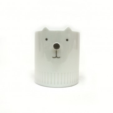 Neko no Hana White Cat Mug 8oz