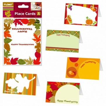 Thanksgiving Place Cards - Assorted