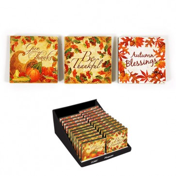 Thanksgiving Standing Plaque - Assorted