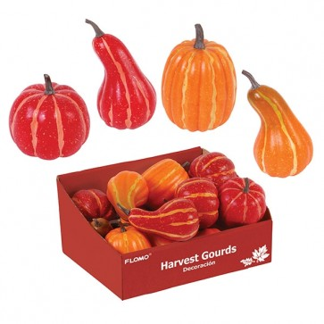 Thanksgiving Harvest Faux Gourds and Pumpkins by FLOMO