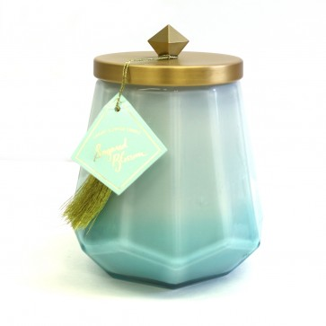 Laurel Glass Jar Candle - Sugared Blossom by Illume