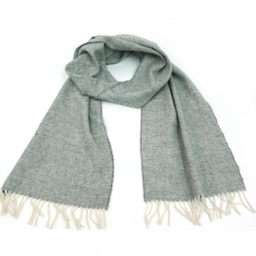 McNutt of Donegal Uniform Grey Wool Scarf
