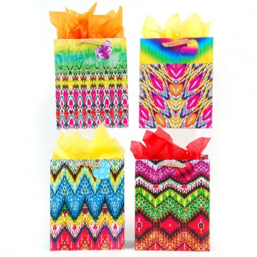 FLOMO Medium Tie Dye Dream Gift Bags - Assorted