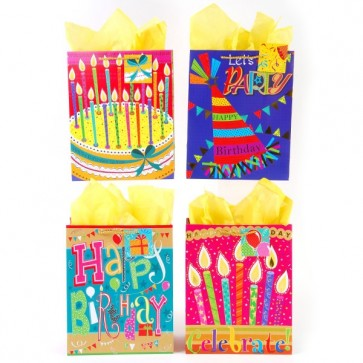 Extra Large Happy Day Gift Bags By FLOMO
