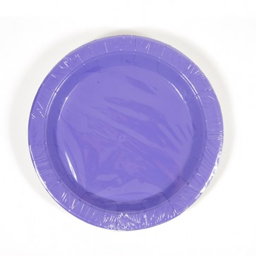 Hot Purple Plates - 9""