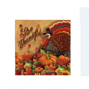 Thanksgiving Printed Napkins
