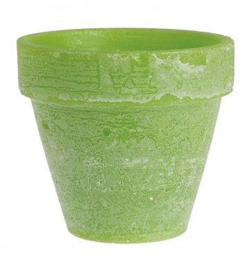 Green Garden Flowerpot Insect Repellent Candle