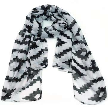 The Royal Standard Aztec Tribal Print Scarf