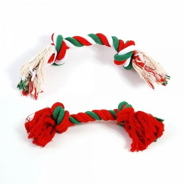 FLOMO Christmas Rope Pet Toys