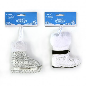 Winter Skate and Boot Ornaments by Holiday Essentials