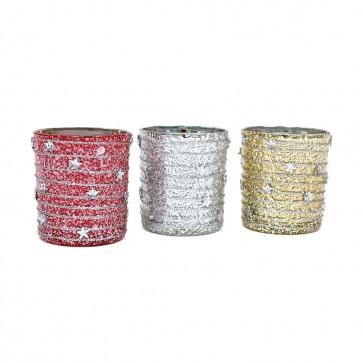 Candle Votives with Star Icons by Holiday Essentials