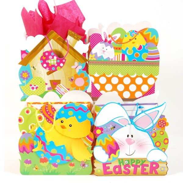 Flomo large make me a basket easter gift bags negle Image collections