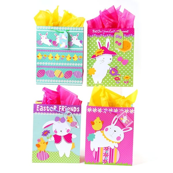 Large sweet easter gift flomo large sweet easter gift bags negle Images