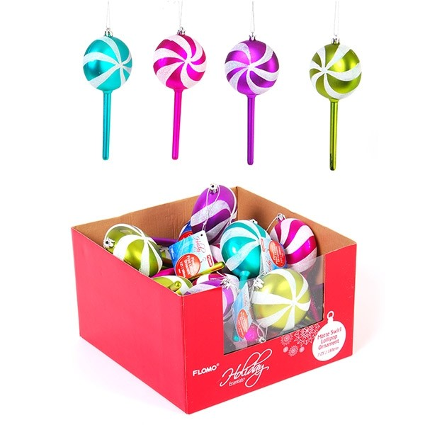 lollipop candy christmas ornaments by flomo - Candy Christmas Ornaments