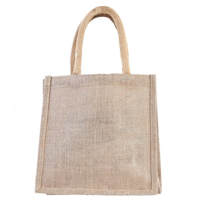 available amazing quality hot-selling official Everyday Square Jute Burlap Bag - Plain Jute by FLOMO