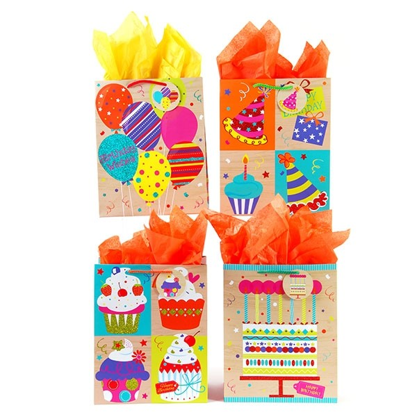Extra Large Birthday Party Cakes Gift Bags By FLOMO Zoom