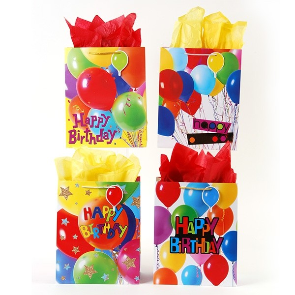 Extra Large Balloon Party Gift Bags By FLOMO