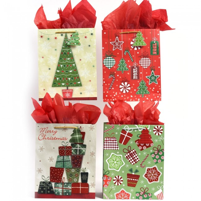 large christmas presents sweets glitter gift bags by flomo - Large Christmas Gift Bags