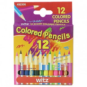 Mini Colored Pencils