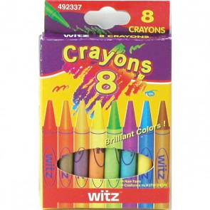 Flomo 8-Pack of Crayons