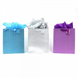 iColoris Grande Diamond Sparkle Wave Gift Bags