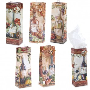 Tuscan Bottle Bag - Assorted Designs