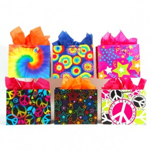 Horizontal Trendy Flair Gift Bags