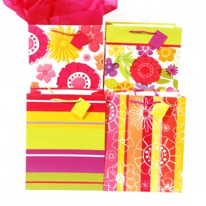 Large Refreshing Flower Petals Gift Bags