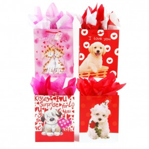 Large Valentine Pets Gift Bags