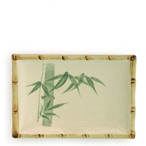 "Bamboo Plate 6.75"" x 4.75"""