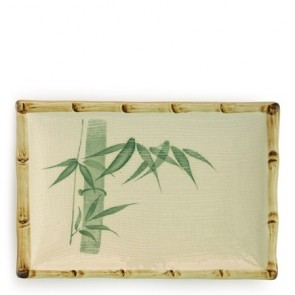 "Bamboo Plate 8.25"" x 5.75"""