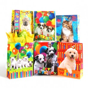 Large Party Animals Birthday Gift Bags
