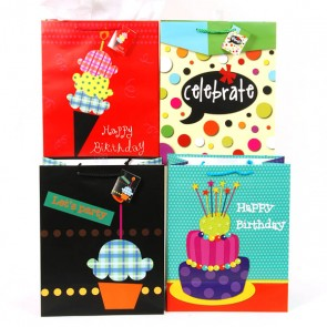 Large Scoops of Birthday Fun Gift Bags