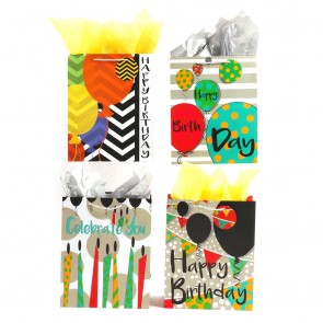 "FLOMO Large ""Birthday Celebration"" Gift Bags"
