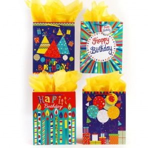 "FLOMO Large ""Candle Party"" Gift Bags"