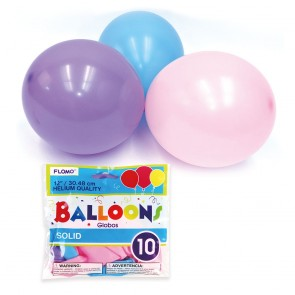 Pastel Color Assorted Balloons by FLOMO