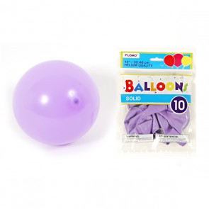 Solid Color Light Purple Balloons