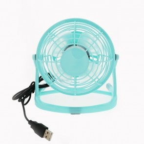 USB Desktop Fan - Blue