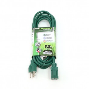 Lawn and Garden Extension Cord - 12ft