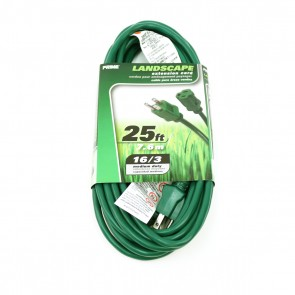 Lawn and Garden Extension Cord - 25ft
