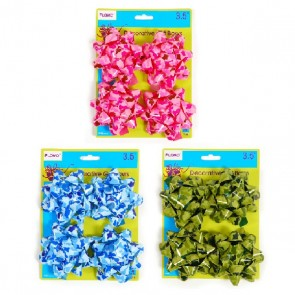 Camouflage Varnish Printed Gift Bows by FLOMO
