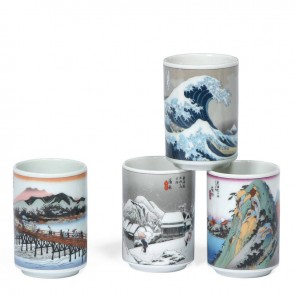 Tokaido Scene Teacup Set